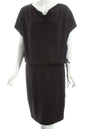 Escada Shirtkleid schwarz Casual-Look