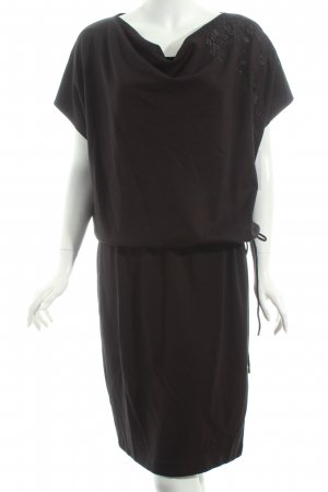 Escada Shirtkleid schwarz Casual-Look