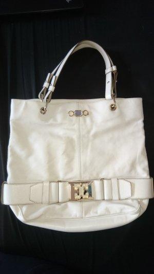Escada Shoppingbag in weiß