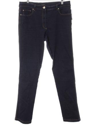 Escada Skinny Jeans dunkelblau Casual-Look