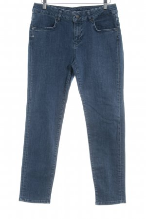 Escada Skinny Jeans stahlblau Casual-Look
