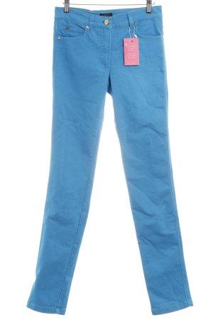 Escada Skinny Jeans türkis Casual-Look