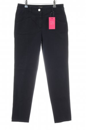 Escada Slim Jeans schwarz Business-Look