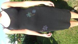 Escada Sommerkleid Kleid Palmen Swarovski Gr 36