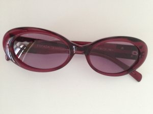 Escada Glasses dark red