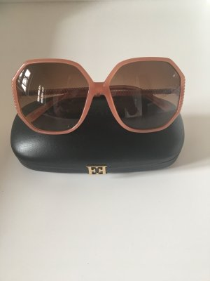 Escada Retro Glasses rose-gold-coloured acetate