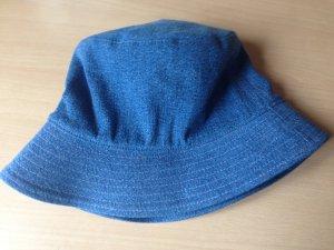 Escada Cappello parasole blu acciaio