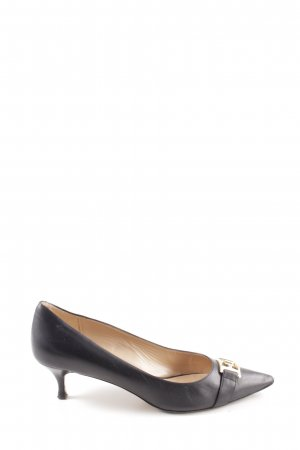 Escada Spitz-Pumps schwarz Business-Look