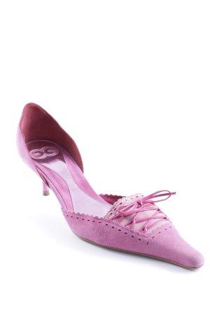Escada Spitz-Pumps pink extravaganter Stil