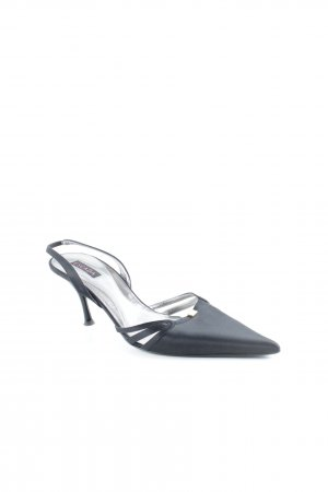 Escada Pointed Toe Pumps black casual look