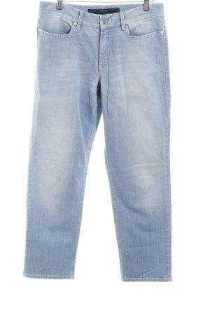 Escada Sport 7/8 Jeans hellblau Street-Fashion-Look