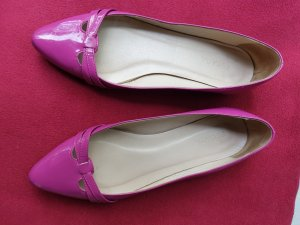 ESCADA Sport Ballerinas rosa lakiert