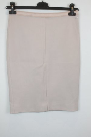 Escada Sport Bleistiftrock Gr. S Leder Stretch puder rosa (18/3/047)