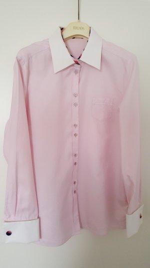 Escada Sport Bluse rosa mit Manschettenknöpfen
