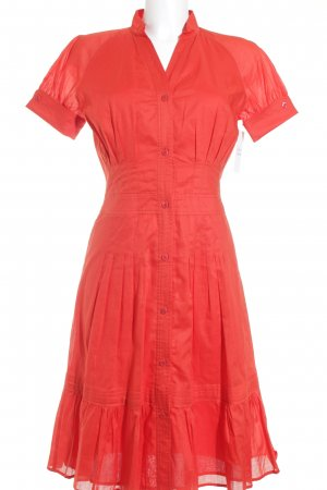 Escada Sport Blusenkleid rot Romantik-Look