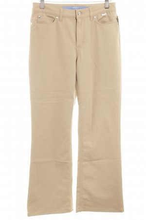 Escada Sport Boot Cut Jeans beige Casual-Look