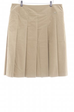 Escada Sport Plaid Skirt camel casual look
