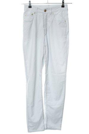 Escada Sport Five-Pocket Trousers blue striped pattern casual look