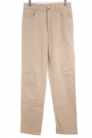 Escada Sport High Waist Jeans beige Retro-Look
