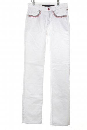 Escada Sport Hoge taille jeans wit casual uitstraling