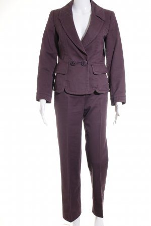 Escada Sport Hosenanzug dunkelviolett Business-Look
