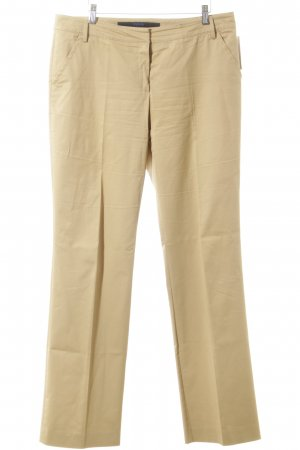 Escada Sport pantalón de cintura baja crema look casual