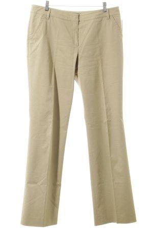 Escada Sport Low-Rise Trousers cream casual look