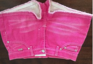 Escada Sport Jeans Hot Pants, pink, Gr 34, neu