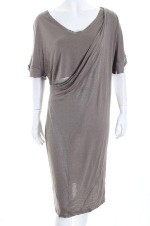 Escada Sport Jerseykleid graubraun Eleganz-Look