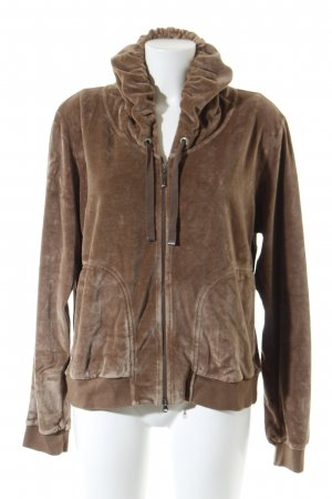 Escada Sport Hooded Sweater camel athletic style