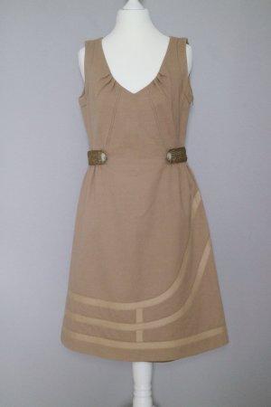 Escada Sport Kleid Gr. 36 aus Woll-Mix beige
