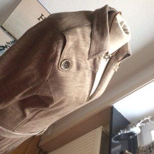 Escada Vestido de lana marrón arena-marrón claro Lana