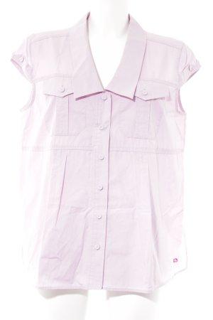 Escada Sport Kurzarm-Bluse rosa Casual-Look