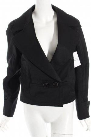 Escada Sport Kurzjacke schwarz Business-Look