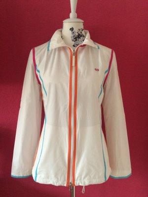 Escada Sport Sweat Jacket white cotton