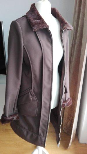 Escada Sport Cappotto in eco pelliccia marrone Poliestere