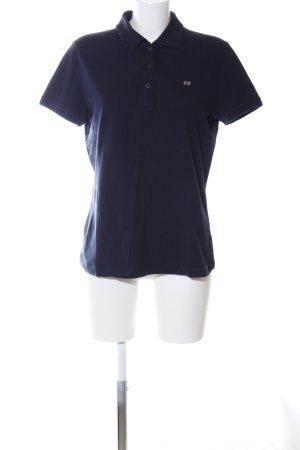 Escada Sport Polo shirt blauw casual uitstraling