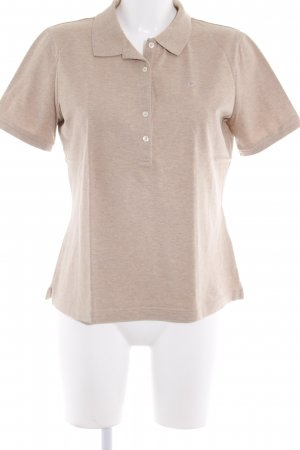 Escada Sport Polo-Shirt sandbraun Casual-Look