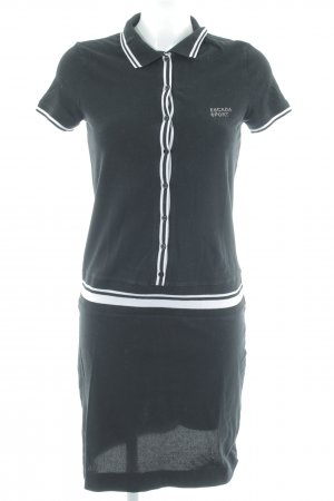 Escada Sport Polo Dress black casual look