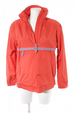 Escada Sport Raincoat bright red-light blue athletic style
