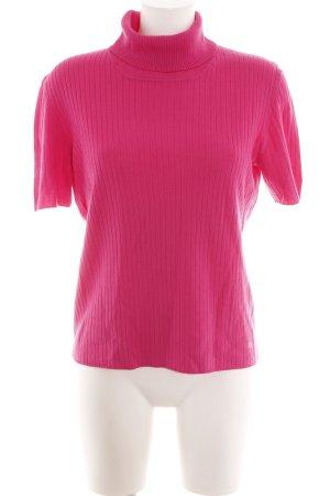 Escada Sport Rippshirt pink Casual-Look
