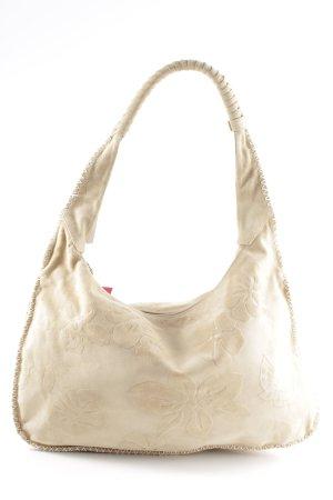 Escada Sport Shoulder Bag cream flower pattern casual look