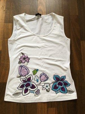ESCADA Sport Shirt mit Pailetten bzw. Perlenstickerei M