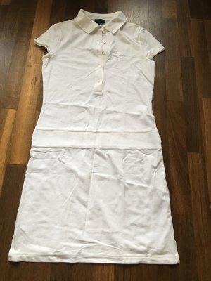 ESCADA Sport Shirt Polokleid, weiß Gr. 36, sportlich chic