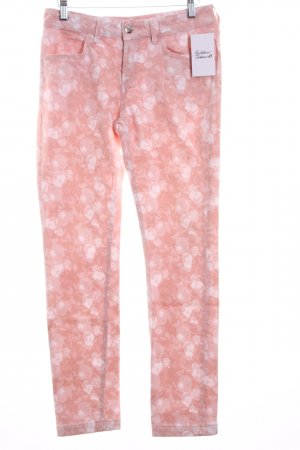 Escada Sport Skinny Jeans florales Muster Casual-Look
