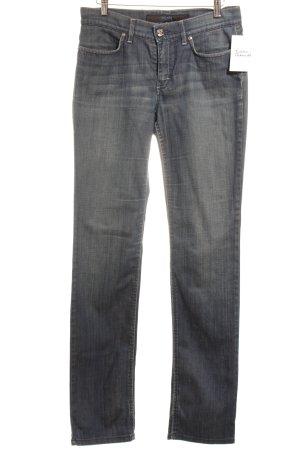 Escada Sport Slim Jeans blau meliert Casual-Look