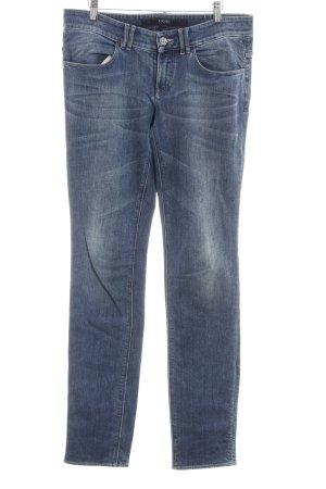 Escada Sport Slim Jeans stahlblau Jeans-Optik