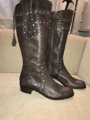 Escada Sport Stiefel  40 braun Lederstiefel Boots
