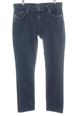 Escada Sport Straight-Leg Jeans dunkelblau-blassblau Casual-Look