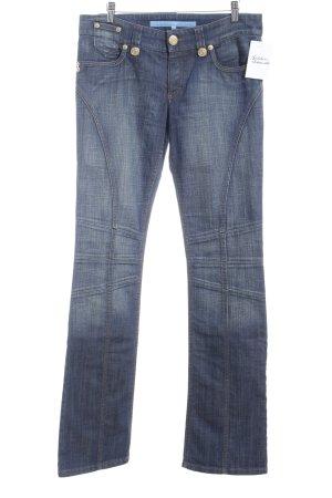 Escada Sport Straight-Leg Jeans dunkelblau-goldfarben Casual-Look